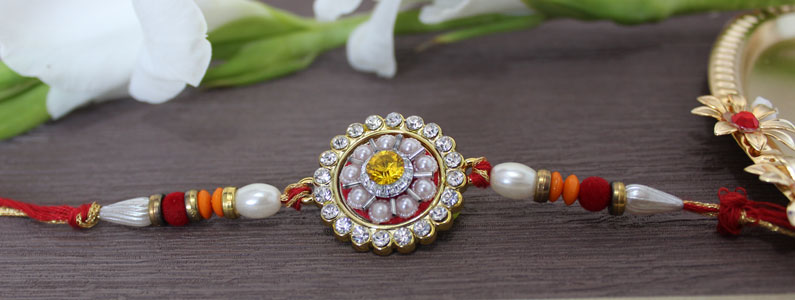 Semi-Precious Rakhi – An Evergreen gift for your dear ones
